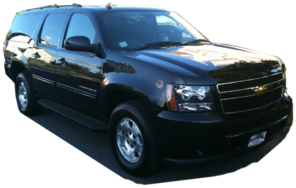 Limousine services for Newark Airport, New Jersey & New York (shown - SUV Limo)