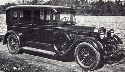 Airport limo service - 1928 limousine