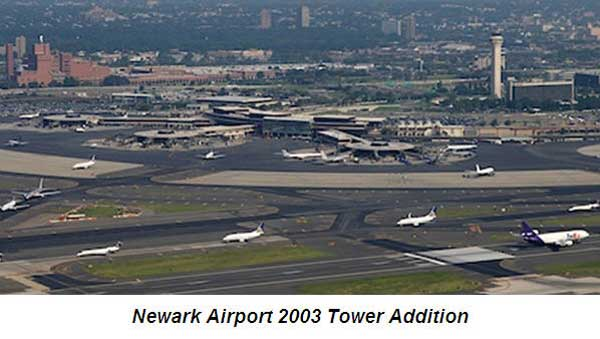 Newark airport limo service - Newark Airport history 2003