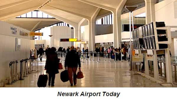 Newark airport limo service - Newark airport history