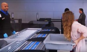 Newark Airport cutting edge technology!